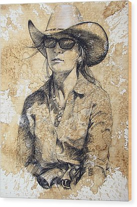 Doc Wood Print by Debra Jones