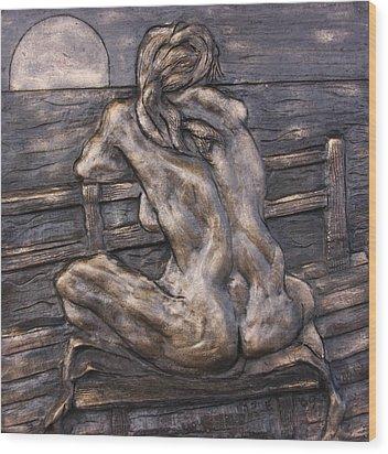 Dock Of The Bay Wood Print by Dan Earle