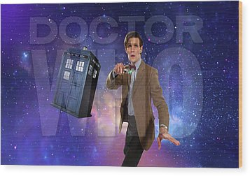 Doctor Who Wood Print