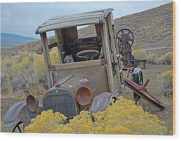Dodge Brothers Pickup Wood Print