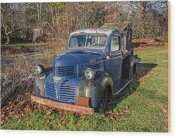 Dodge Pickup Wood Print