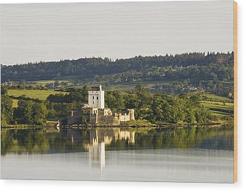 Doe Castle, County Donegal, Ireland Wood Print by Peter McCabe