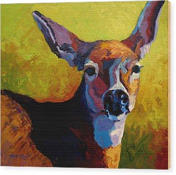 Doe Portrait V Wood Print