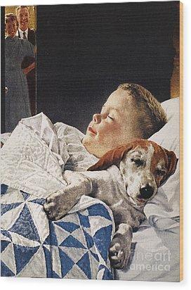 Dog Food Ad, 1956 Wood Print by Granger
