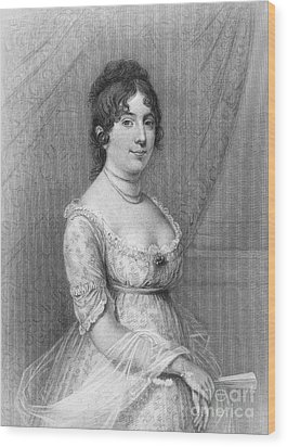 Dolley Madison (1768-1849) Wood Print by Granger
