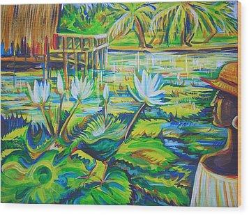 Dominicana Wood Print