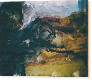Donald Rumsfeld Gwot Vision Wood Print