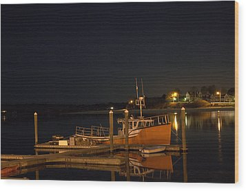 Wood Print featuring the photograph Done Fishing by Greg DeBeck
