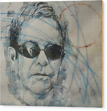 Don't Let The Sun Go Down On Me  Wood Print by Paul Lovering