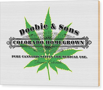 Doobie And Sons Wood Print by Gary Grayson