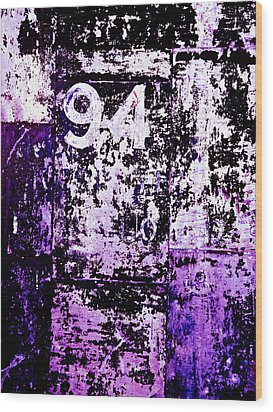 Door 94 Perception Wood Print by Bob Orsillo