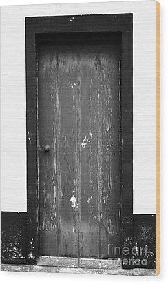 Door Wood Print by Gaspar Avila