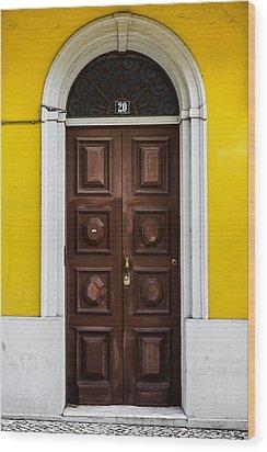 Door No 20 Wood Print by Marco Oliveira