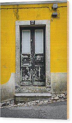 Door No 37 Wood Print by Marco Oliveira