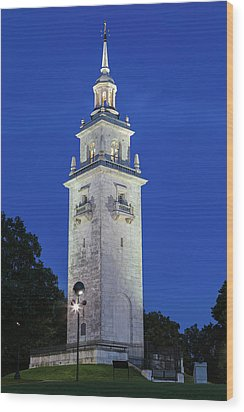 Wood Print featuring the photograph Dorchester Heights Monument by Juergen Roth