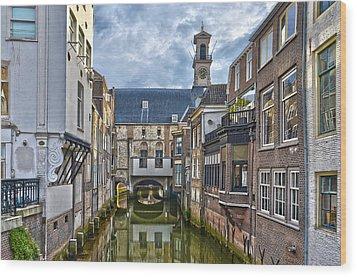 Dordrecht Town Hall Wood Print