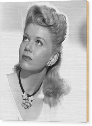 Doris Day Ca Mid 1940s Photograph By Everett