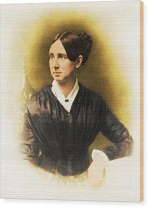 Dorothea Dix, American Reformer Wood Print by Photo Researchers