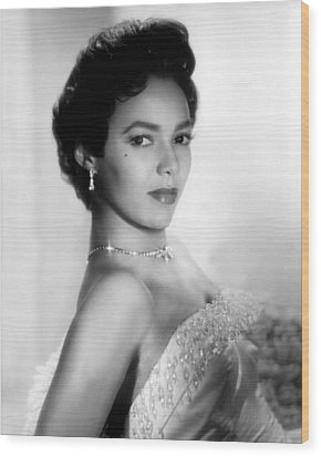 Dorothy Dandridge, No Date Wood Print by Everett