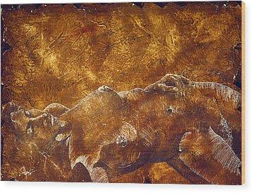 Dorothy Iv Wood Print by Richard Hoedl