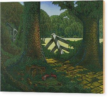 Dorothy Wood Print by Michael Frank