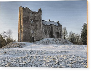 Doune Castle In Central Scotland Wood Print