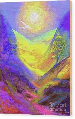 Dove Valley Wood Print