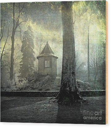 Dovecote Wood Print by Bernard Jaubert