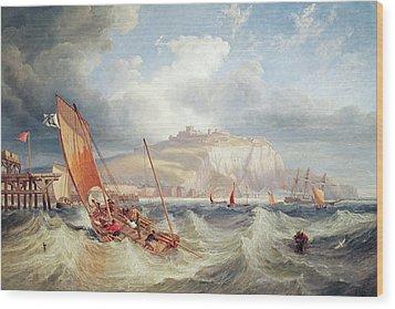 Dover Wood Print by John Wilson Carmichael