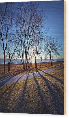 Wood Print featuring the photograph Down This Way We Meander by Phil Koch