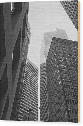 Downtown Empathy - Limited Run Wood Print by Lars B Amble