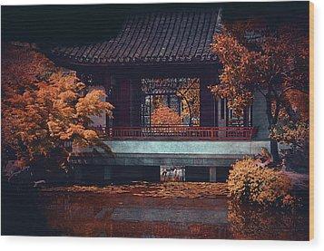 Dr. Sun Yat-sen Garden Wood Print