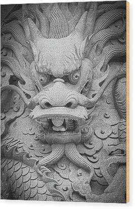 Dragon Wood Print