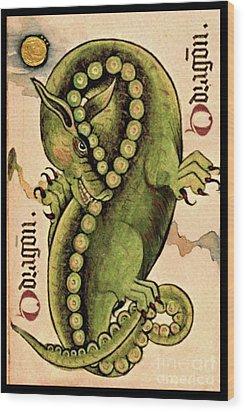 Dragon Dragon Wood Print