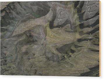 Dragon Fury Wood Print