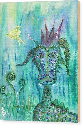 Dragon Prince Wood Print