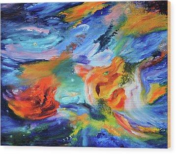Dragon's Head Nebula Wood Print