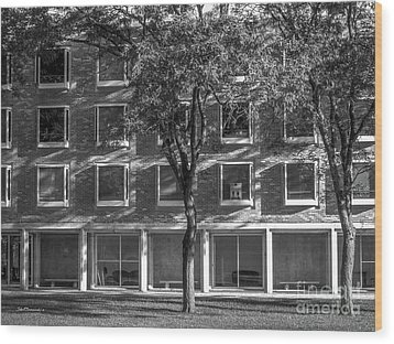 Drake University Goodwin Kirk Residence Hall Wood Print by University Icons