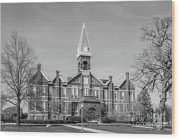 Drake University Old Main Wood Print by University Icons