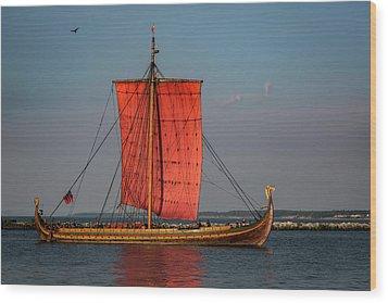 Draken Harald Harfagre Wood Print