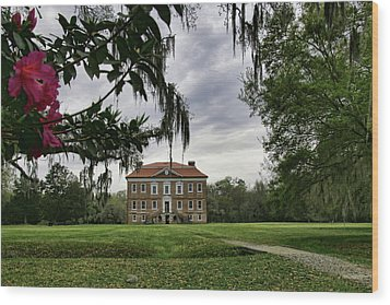 Drayton Hall II Wood Print