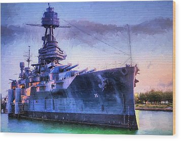 Dreadnought Wood Print by JC Findley