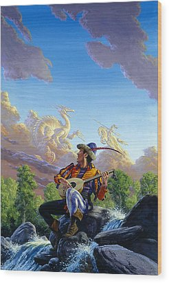 Dream Clouds Wood Print by Richard Hescox