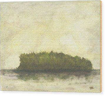 Dream Island I Wood Print