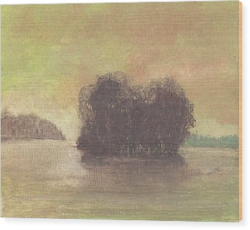 Dream Island Iv Wood Print