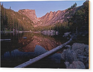 Wood Print featuring the photograph Dream Lake by Gary Lengyel