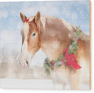 Dream Of A Gift Horse Wood Print