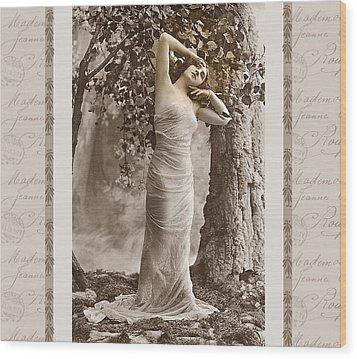 Dream Of The Night Wood Print