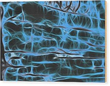 Dream Weaver Wood Print by Thomas  MacPherson Jr