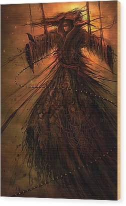 Dreamcoat Wood Print by Philip Straub